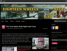 Tablet Preview of 18wheelsandheels.net